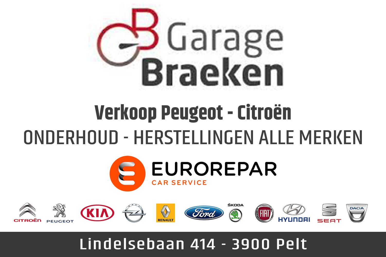 garage Braeken, pelt